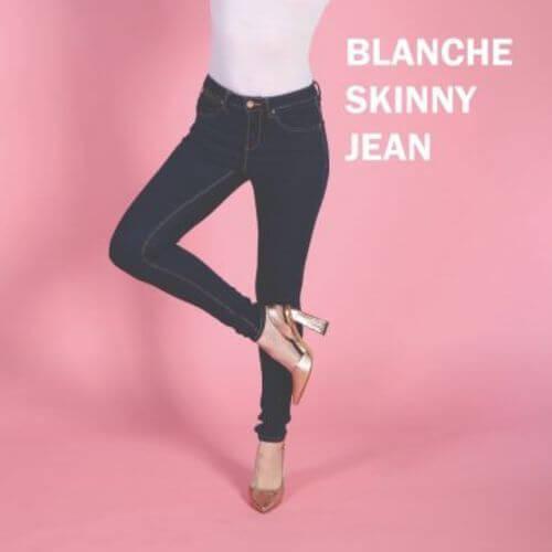 Rant & Rave Dark Wash Skinny Jean (30″ Leg)