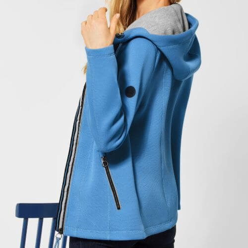 Blue Sweat Jacket