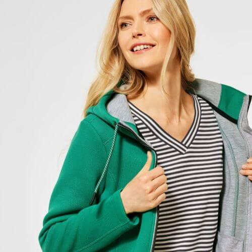 Green Sweat Jacket (size Medium)