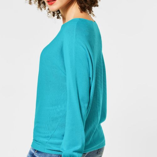Turquoise Fine Knit Jumper