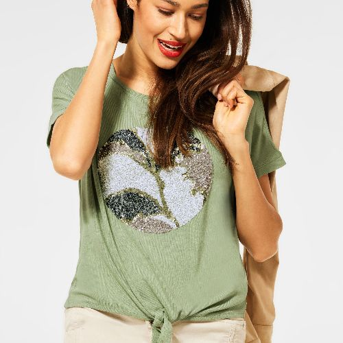 Top With Sequin Detail