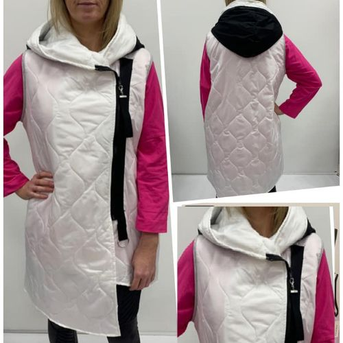 Gilet With Zip Detail