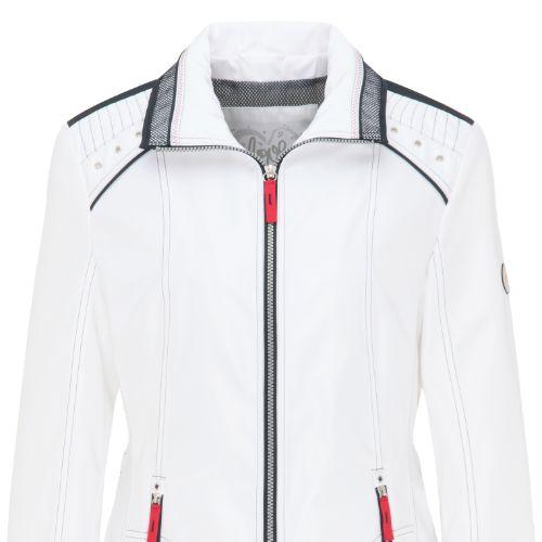 White Lebek Jacket