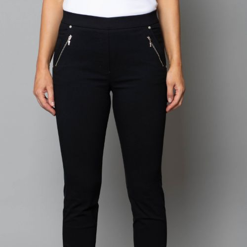 Trousers With Zip Detail