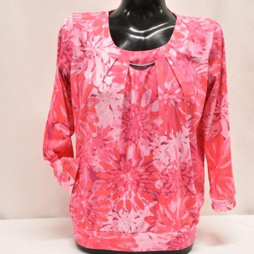 Pink Print Top
