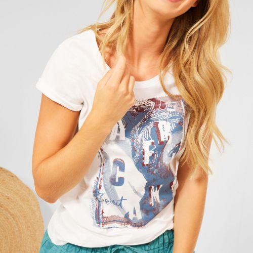 Partprint T-shirt
