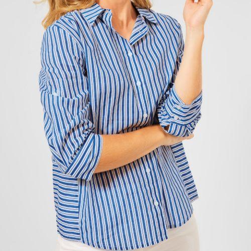 Stripe Pattern Shirt