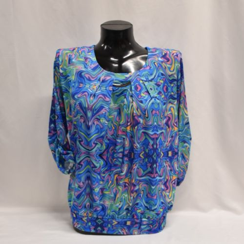 Blue Print Top (up To Size 26)