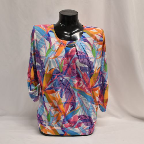 Multi Colour Top (up To Size 4XL (26))