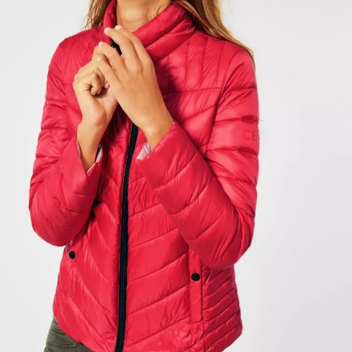 Jacket In Quilted Look