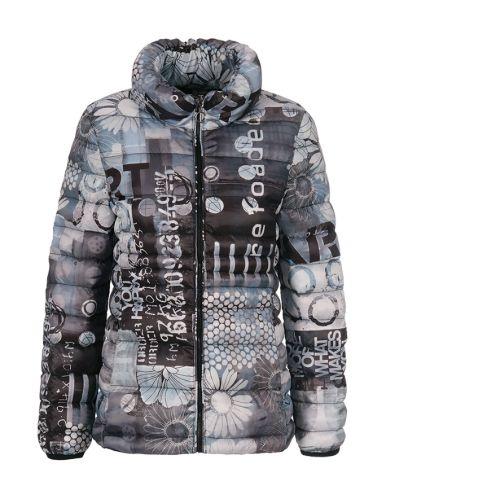 Dolcezza Grey Print Jacket