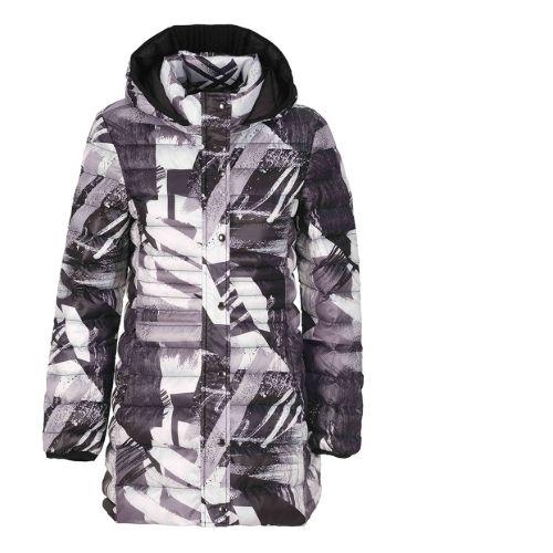 Dolcezza Print Jacket With Detachable Hood