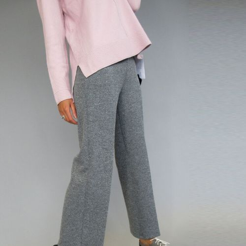 Decollage Grey Mix Trousers