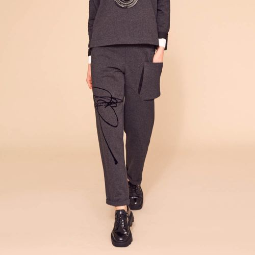 NAYA Placement Print Trousers