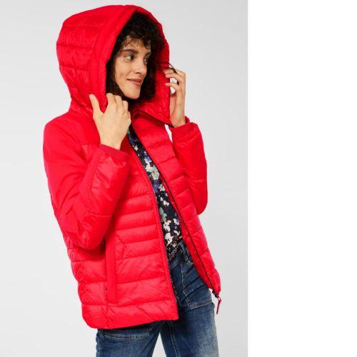 Red Softshell Mix Jacket