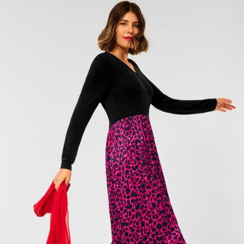 Midi-length Dress
