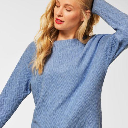 Seaside Blue Sweater