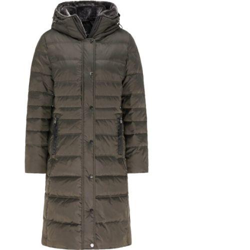 Barbara Lebek Coat With Fur Lined Hood