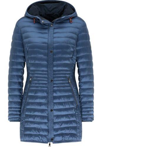 Barbara Lebek Midnight Blue Lightweight Quilted Coat