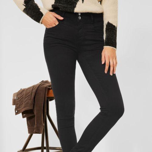 Black York Style Jeans
