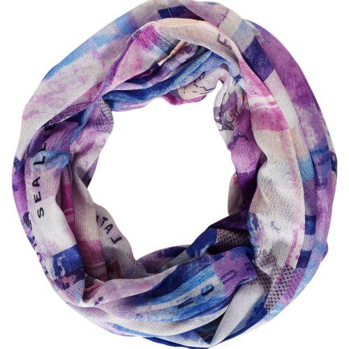Frosty Violet Print Loop