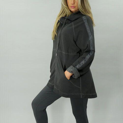 D.E.C.K. Black Hooded Jacket