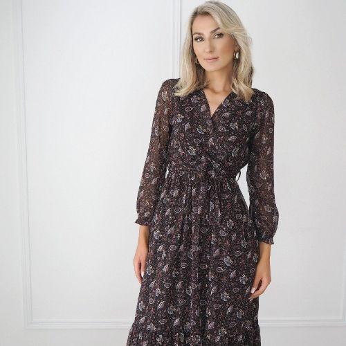 Kate & Pippa Modena Print Dress